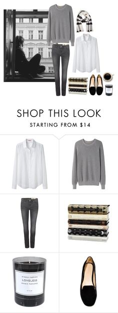 """MINIMAL + CLASSIC: """"Untitled #151"""" by coffeestainedcashmere liked on Polyvore featuring Organic by John Patrick, Peter Jensen, AllSaints, Byredo, Zara and Burberry"""