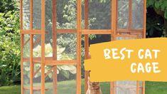 Best Cat Cage Cat Playpen, Outdoor Cat Enclosure, Cat Cages, Cat Condo, Outdoor Cats, Pet Carriers, Litter Box, Animal House, Tool Design
