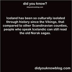 "I think ""in it's original lingo"" was missing from that one. Many norwegians can do the same since old Norwegian was a part of the education plan in Norway.  The point is that Icelanders who know Icelandic can read the sagas even if they only know the modern Icelandic language, however for a Norwegian to read the sagas they would need to learn Icelandic."