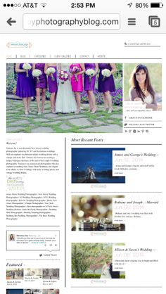 Just tickled with the latest weddings posted on the blog! www.vanessajoyphotographyblog.com nj wedding photographer