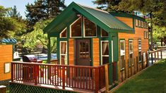 KOA Deluxe Cabins From Forest River Park Model Divisio