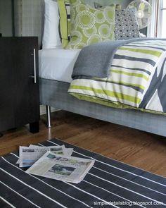 Simple Details: upholstered box spring tutorial