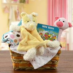 Baby Girl Nap Time Gift Basket
