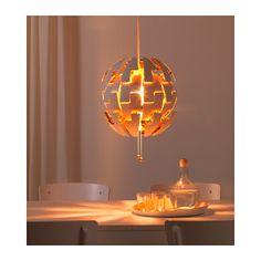 IKEA PS 2014 Hanglamp - wit/koperkleur - IKEA