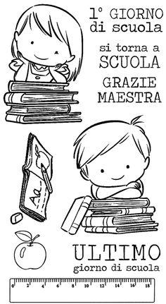 IMPRONTE D'AUTORE - STAMPING - PRODOTTI - ULTIMI ARRIVI!!! - 1860-Plate-B Scuola