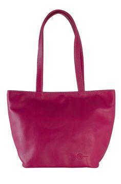sac soleil cuir fuschia - fabrication française #cuir #madeinfrance #tournon #tournonsurrhône #maroquinerie #leather #Leatherwork #faugierfrance #florencefaugier #sac #sacàmains