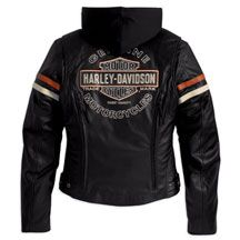 Women's Miss Enthusiast 3-in-1 Leather Jacket | MotorClothes® Merchandise | Harley-Davidson USA