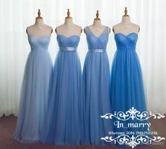 Light Blue Plus Size Long Country Bridesmaids Dresses 2017 A Line Mix Style Cheap Tulle Beach Wedding Guest Prom Gowns Maid Of Honors Cheap Bridesmaids Dresses 2017 Bridesmaids Dresses Plus Size Bridemadis Dresses Online with $133.72/Piece on In_marry's Store | DHgate.com