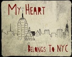 My Heart Belongs To NYC