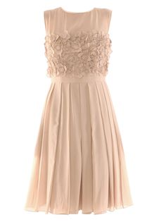 Romantic dress - This would be good for a wedding dress, Easter, ballet, or other semi-formal event.