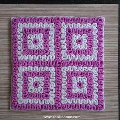 Wiggly Crochet Patterns, Crochet Shoes Pattern, Crochet Animal Patterns, Basic Crochet Stitches, Crochet Squares, Stuffed Animal Patterns, Crochet Motif, Crochet Cushion Cover, Crochet Cushions