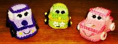 2000 Free Amigurumi Patterns: Tiny Wheels Crazee Carz