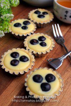 Blueberry Cheese Mini Tarts