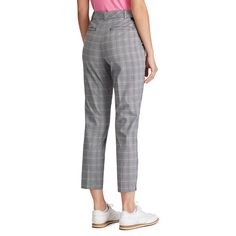 Designer women's golf clothing from J. The Golf Society has the best range of stylish and functional golf clothing. Golf Outlet, Golf Jackets, Polo Shirt White, Golf Wear, Glen Plaid, Golf Clothing, New Balance Women, Ladies Golf, Golf Shirts