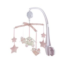 VICTORINE musical baby mobile in pink