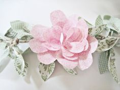Two Shades of Pink: Fabric Vine Part 2: Petal Flowers