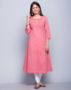 Cotton ChambrayPanelledSujni EmbroideredRound SleevesHand Wash Separately in Cold WaterYou searched for: shrugs for clothes! Finthousands of handmade, vintage, and special products.Complement an occasion look utilizing a beautiful signal for a beauti Simple Kurta Designs, Silk Kurti Designs, Kurta Designs Women, Kurti Designs Party Wear, Salwar Designs, Dress Neck Designs, Designs For Dresses, Blouse Designs, Indian Fashion Dresses