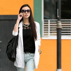 Buy 'SO Central – Jersey Blazer' with Free International Shipping at YesStyle.com. Browse and shop for thousands of Asian fashion items from Hong Kong and more!