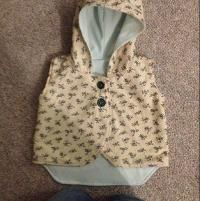 Sewing : Hooded Vest