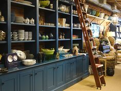 Nicola's in Portland, Maine... one of my absolute favorite shops (the girls & i took a trip here just for inspiration. we were enamored with EVERYTHING)