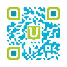 QR code creator.  you can customize.  you can add your own graphic/text in middle of code