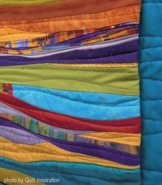 ❤ =^..^= ❤   Quilt Inspiration: Desert Adventure: Quilt Arizona !   Southwestern   Desert Sisters by Skye McDonald, detail