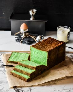 Life changing /-/ Pandan Pull man bread loaf | The Moonblush Baker