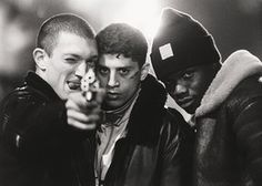La Haine. Classic, visceral filmmaking. Massive eye opener for me as a teenager: impact of social exclusion, institutional racism, lost potential of brilliant young people. Has not dated one bit.