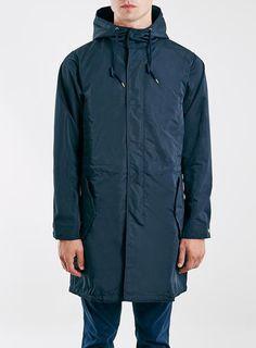 Oversized navy parka £85 @topman