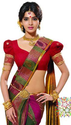Diwali girl Samantha.