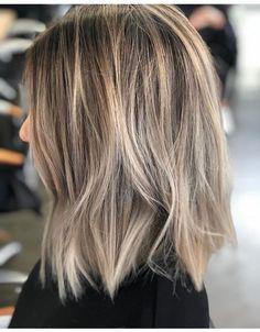 Waves my hair usually holds Hair Inspo, Hair Inspiration, Ash Blonde Balayage, Hair Color And Cut, Great Hair, Hair Lengths, Hair Goals, New Hair, Short Hair Styles