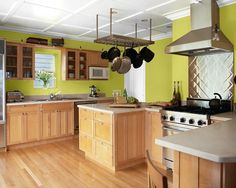 Think I just found my new kitchen color! Frolic by Sherwin Williams love it!!