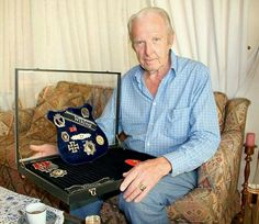Another decorated vet. Impressive haul of medals.