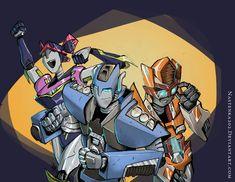 Miko, Jack and Raf as... by Nastenka202 on DeviantArt