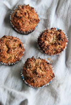 Triple Coconut Paleo Muffins.  I'm going to try them. Hope they're as good as they sound!