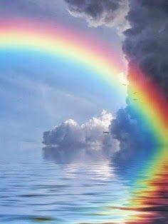 Rainbow and over again!