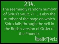 #HarryPotter Did you know this info about Sirius Black?