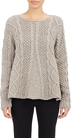 4fa43c5b183bc Co Trapeze Sweater - Sweaters - 503992453 Cachemire, Modele Tricot, Tricot  Femme, Manches