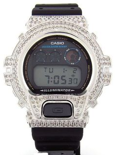Casio G-Shock Custom 4.50 ct Diamond 466 pcs « Clothing Adds for your desire