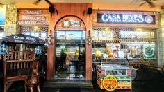 Casa Reyes Bistro Filipino - your HOME in the middle of Greenhills Promenade Watermelon Shake, Pinakbet, Sinigang, Sisig, Mango Sauce, Truffle Butter, Japanese Cheesecake, Lechon, Wagyu Beef