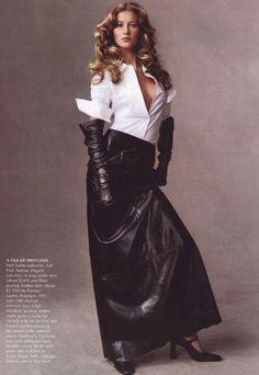 "Vogue US - 08/1999 - ""Metropolitan"" - Steven Meisel"