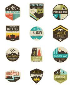 national park logos - Google Search