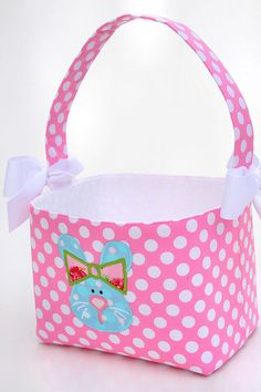 Make a fabric easter basket tutorial pinterest easter baskets make a fabric easter basket tutorial pinterest easter baskets easter and tutorials negle Images