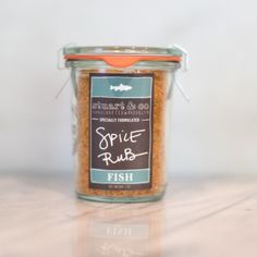Fish Rub | $9. Seafood has met its match with this savory seasoning featuring tarragon, a great compliment to fish. Available at: manykitchens.com