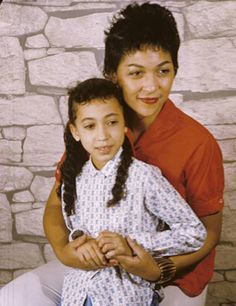 Model Pat Cleveland and mother Ladybird Cleveland
