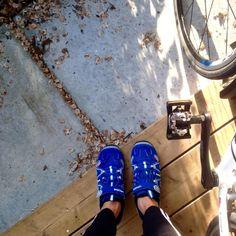 Florina Blokland  @florinablokland  #synchroonkijken Dag 7 - #FromWhereIStand Ready to take off! #fietsen
