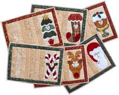 Christmas Placemats : Catharinas Country Collection, Patchwork