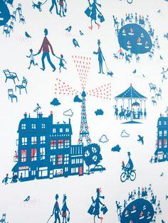 Un Dimanche à Paris - Wallpaper