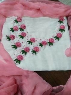 WhatsApp 9035330901 to customise hand embroidery materials Simple Hand Embroidery Patterns, Hand Embroidery Letters, Hand Embroidery Videos, Embroidery Stitches Tutorial, Hand Work Embroidery, Embroidery Flowers Pattern, Flower Embroidery Designs, Kurti Embroidery Design, Embroidery Materials