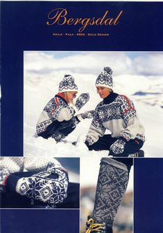 Bergsdal Norwegian Knitting, Beautiful Norway, Fair Isle Knitting, Knitting Patterns, Knitting Ideas, Vintage Knitting, Traditional Outfits, Scandinavian, Fair Isles